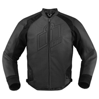 ICON Men's Hypersport Stealth Black Jacket