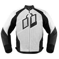 ICON Men's Hypersport White Jacket