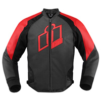 ICON Men's Hypersport Red Jacket