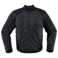 ICON Men's Overlord Black Textile Jacket