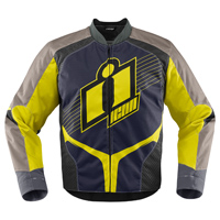 ICON Men's Overlord Hi-Viz Textile Jacket