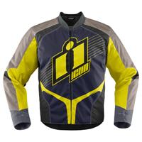 ICON Men's Overlord Hi-Viz Textile Jacket