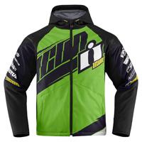 ICON Men's Team Merc Green Jacket