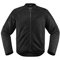 ICON Men's Anthem 2 Black Jacket