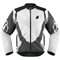ICON Men's Anthem 2 White Jacket
