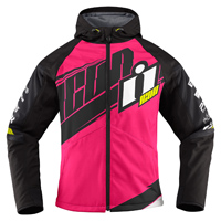 ICON Women's Team Merc Pink Jacket