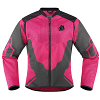 ICON Women's Anthem 2 Pink Mesh Jacket