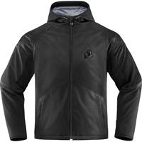 ICON Men's Merc Stealth Black Jacket