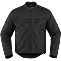 ICON Men's Icon Motorhead 2 Black Jacket