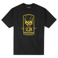 ICON Men's Cross Eyed Black T-Shirt
