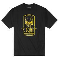 ICON Men's Cross Eyed Black T-Shirt
