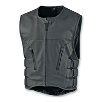 ICON Men's Regulator Stripped Black Vest