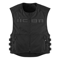 ICON Men's Brigand Black Vest