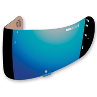 ICON RST Blue Optics Shield For Airfram Pro and Airmada Helmets