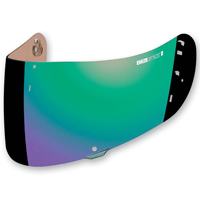 ICON RST Green Optics Shield For Airfram Pro and Airmada Helmets
