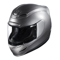 ICON Airmada Medallion Silver Full Face Helmet