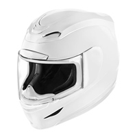 ICON Airmada Gloss White Full Face Helmet