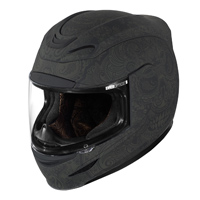 ICON Airmada Chantilly Black Full Face Helmet