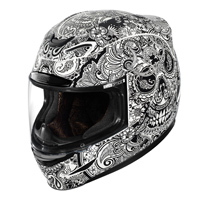 ICON Airmada Chantilly White Full Face Helmet