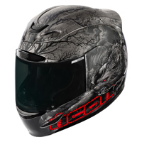 ICON Airmada Thriller Black Full Face Helmet