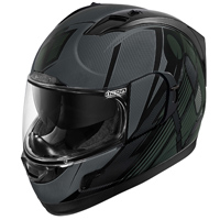 ICON Alliance GT Primary Black Full Face Helmet