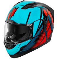 ICON Alliance GT Primary Blue/Red Full Face Helmet