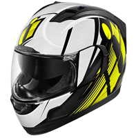ICON Alliance GT Primary Hi-Viz Full Face Helmet