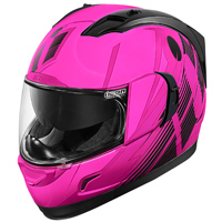 ICON Alliance GT Primary Pink Full Face Helmet