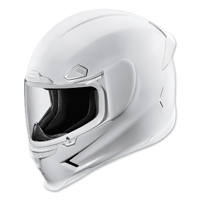 ICON Airframe Pro Gloss White Full Face Helmet
