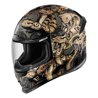 ICON Airframe Pro Cottonmouth Full Face Helmet