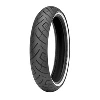Shinko 777 130/70B18 Wide Whitewal Front Tire