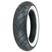 Shinko 777 130/60-19 Wide Whitewall Front Tire