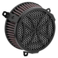 Cobra Powrflow Air Cleaner Kit Cross Black