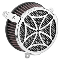 Cobra Powrflow Air Cleaner Kit Cross Chrome