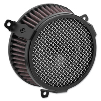 Cobra Powrflow Air Cleaner Kit Plain Black
