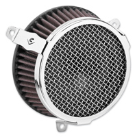 Cobra PowrFlo Air Cleaner Kit Chrome Round