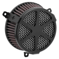 Cobra Powrflow Air Cleaner Kit Spoke Black