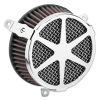 Cobra Powrflow Air Cleaner Kit Spoke Chrome