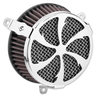 Cobra Powrflow Air Cleaner Kit Swept Chrome