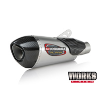 Yoshimura Street Alpha T Slip-On Works Finish