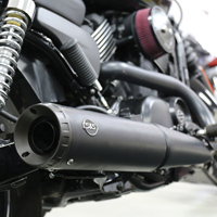 S&S Cycle Grand National Slip On Muffler