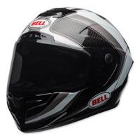 Bell Race Star Sector White/Silver Full Face Helmet