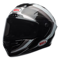 Bell Race Star Sector White/Silver Full Face Helmet
