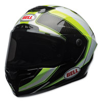 Bell Race Star Sector White/Hi-Viz Full Face Helmet