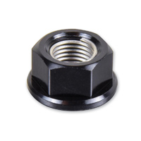 Pro-Bolt 10mm Black Aluminum Sprocket Nuts