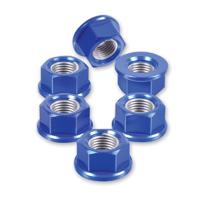 Pro-Bolt 10mm Blue Aluminum Sprocket Nuts