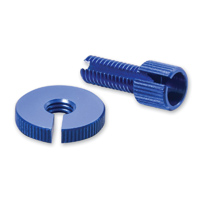 Pro-Bolt Cable Adjuster Two Piece M8 Thread - Blue