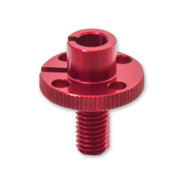 Pro-Bolt Cable Adjuster One Piece M10 Thread - Red