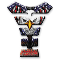 Keiti Us Flag/Eagle Tank Pad