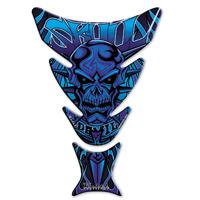 Keiti Blue Skull/Devil Tank Pad